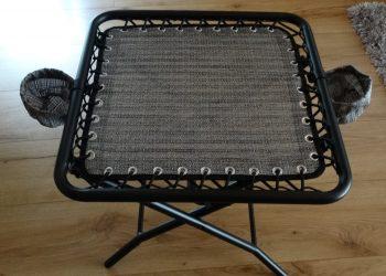 Beistelltisch Tisch klappbar inkl.2 Getränkehalter Stuhl Angeln