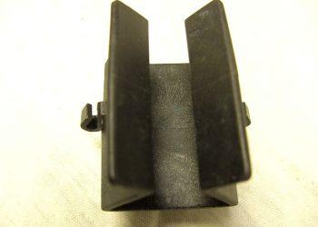 43 Stück Klemmhalter Kunststoff schwarz Angelruten ,usw