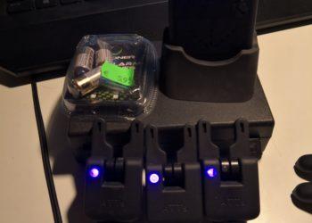 Gardner ATT's Bissanzeiger Set 3+1 purple Carp Tackle Karpfen