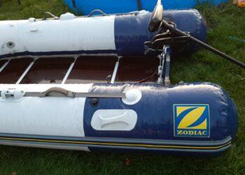 Angelboot + Motor + Echolot + Batterie zu verkaufen