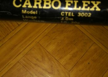 CARBO FLEX 3m 10-30g + FX35 Graphit Spule