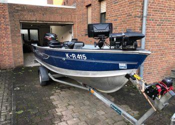 AluminiumBassBoat – Lund Fury – ready to fish